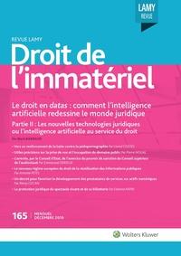 Revue Lamy Droit de l'Immatériel, 165, 01-12-2019