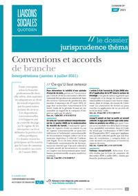 Le Dossier Jurisprudence Thema, 161/2021, 07-09-2021