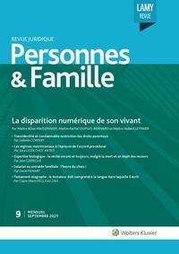 Revue Juridique Personnes et Famille, 9, 01-09-2021