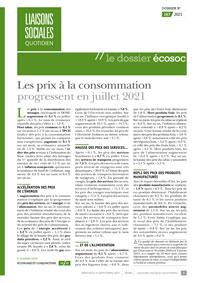 Le Dossier Écosoc, 167/2021, 15-09-2021