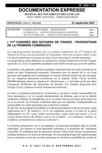 Documentation Expresse, 2021-16, 21-09-2021