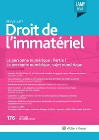 Revue Lamy Droit de l'Immatériel, 176, 01-12-2020