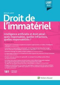 Revue Lamy Droit de l'Immatériel, 181, 01-05-2021