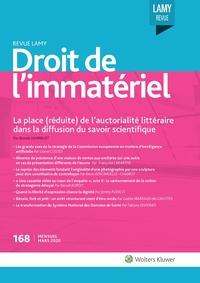 Revue Lamy Droit de l'Immatériel, 168, 01-03-2020