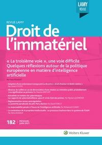 Revue Lamy Droit de l'Immatériel, 182, 01-06-2021