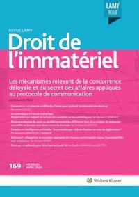 Revue Lamy Droit de l'Immatériel, 169, 01-04-2020