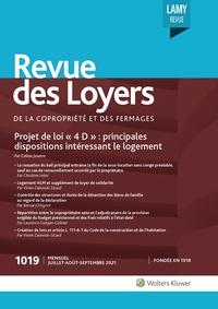 La Revue des Loyers, 1019, 01-07-2021
