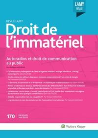 Revue Lamy Droit de l'Immatériel, 170, 01-05-2020
