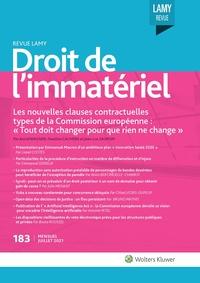 Revue Lamy Droit de l'Immatériel, 183, 01-07-2021